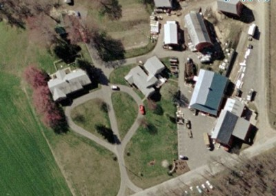 aerial of farm latest